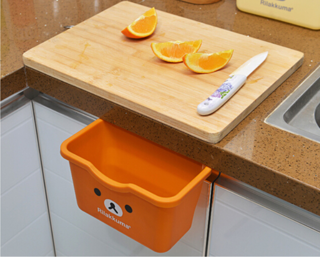 Kitchen Waste Basket Holder: Aliexpress.com : Buy Cupboard Hanging Garbage Bin Kitchen