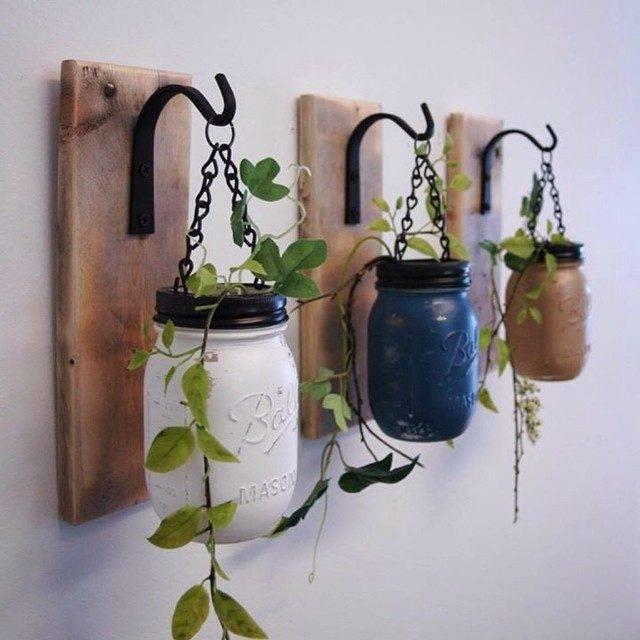 -La Boca jardín decorativo mason jar