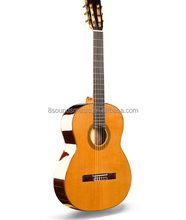 "wholesale top quality 39"" All Solid wood nylon string guitar Solid classical guitars"