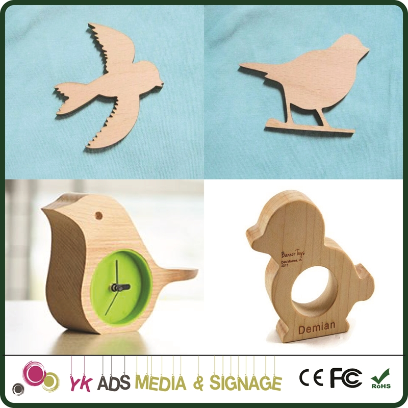 small animals wood craft Customized Shape Holiday Wooden Nutcrackers Decoration