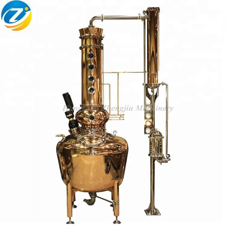 200 Liter Kupfer Destillationsgerät Moonshine Distiller Distillery Alcohol