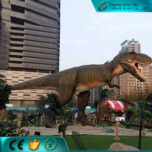 Real Size Animated Electric Dinosaur for Dinosaur Them Park