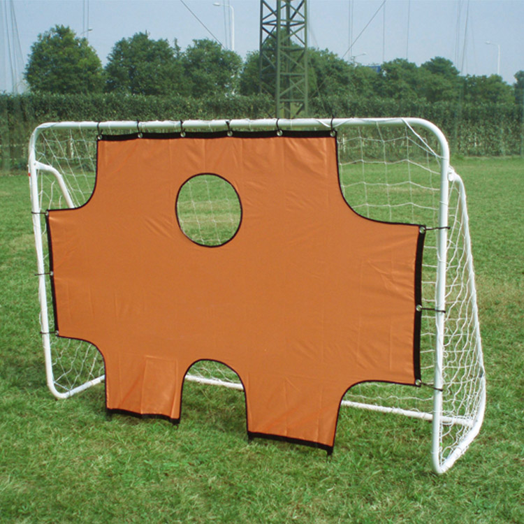 Made in china jinhua yiwu standard PVC improve soccer goal with target and sporting goods