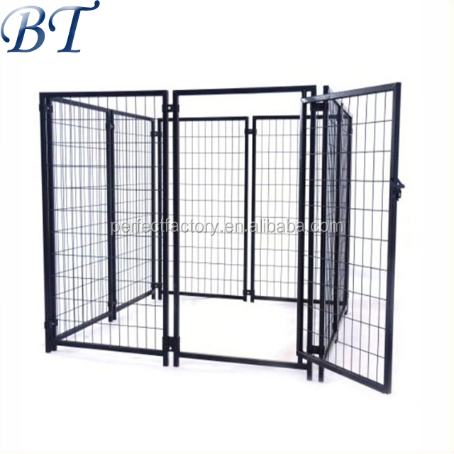 Galvanized welded panel for indoor and outdoor dog kennel/run fence