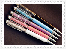 Cheap Diamond Pen Ballpoint Pen Gift for Women Gift Office Supplier Pen with Crystal