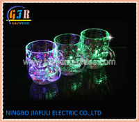 Light - Up Beer mug with liquid activated function and switch oo/off