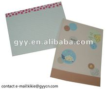Notebook with 120g offset paper for office use 2012