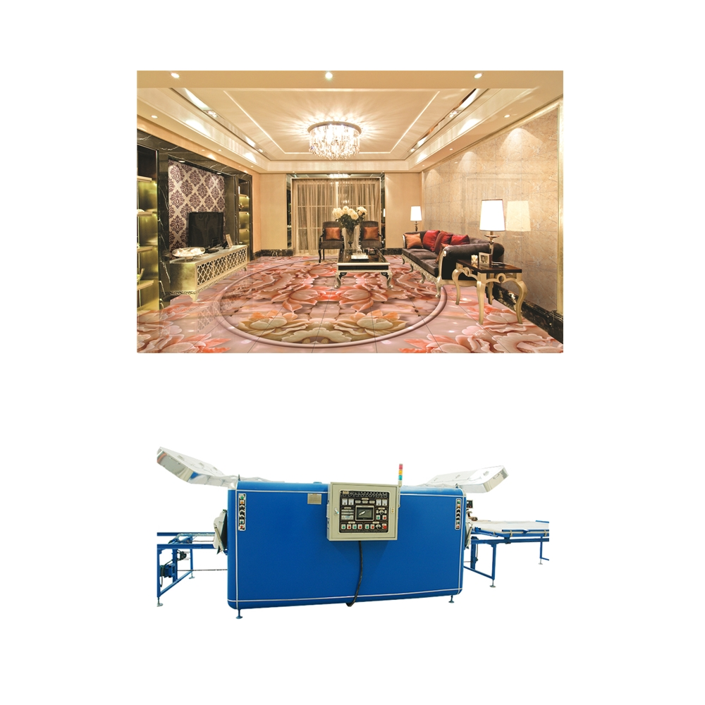 china manufacture 3D printing ceramic flooring tile making machine for living room