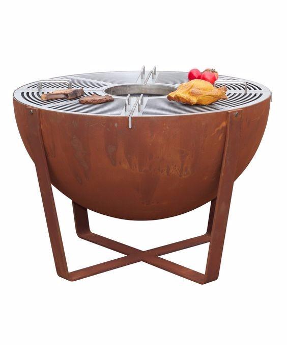 Round Outdoor Corten Steel Fire Bowl Wood Fire Pit Buy