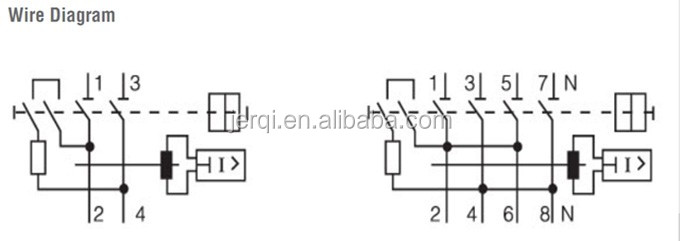 Wiring Diagram For Rccb : Pole a ma rcd f type magnetic residual current