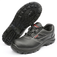 Custom Brand Name Basic Work Place Steel Toe High Quality Safety Shoes