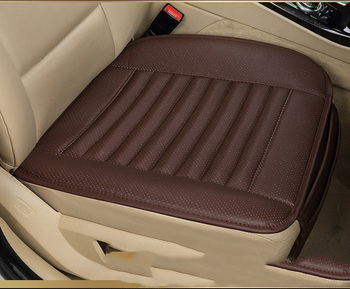 ZD-P-072 Bamboo charcoal leather car seat cover cushion