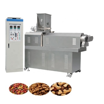 Long performance small scale dog food processing machines pet feed machinery