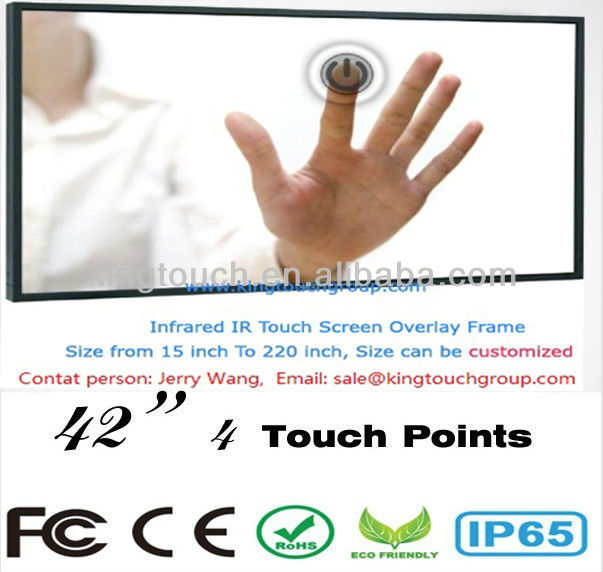 42 inch IR touch screen for LED/LCD monitor with USB