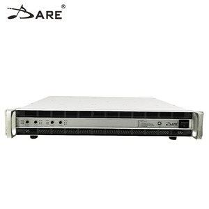 DB4 4CH*4000W Class D professional high power amplifier, audio digital amplifier with optional DSP&Dante