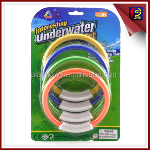 kids Swimming diving toys 4PCS diving rings ZZX188715
