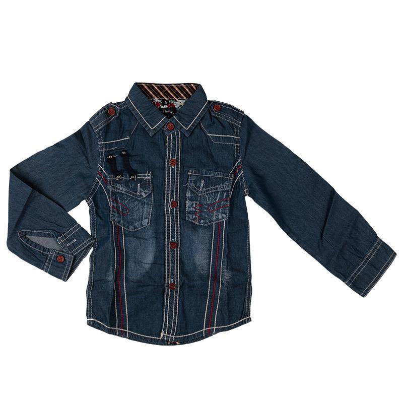 bdfa8ea84 Get Quotations · Newest Children Boys Cowboy Full Sleeve Spring & Autumn  Kids Cowboy Shirt Clothing for Boys Free