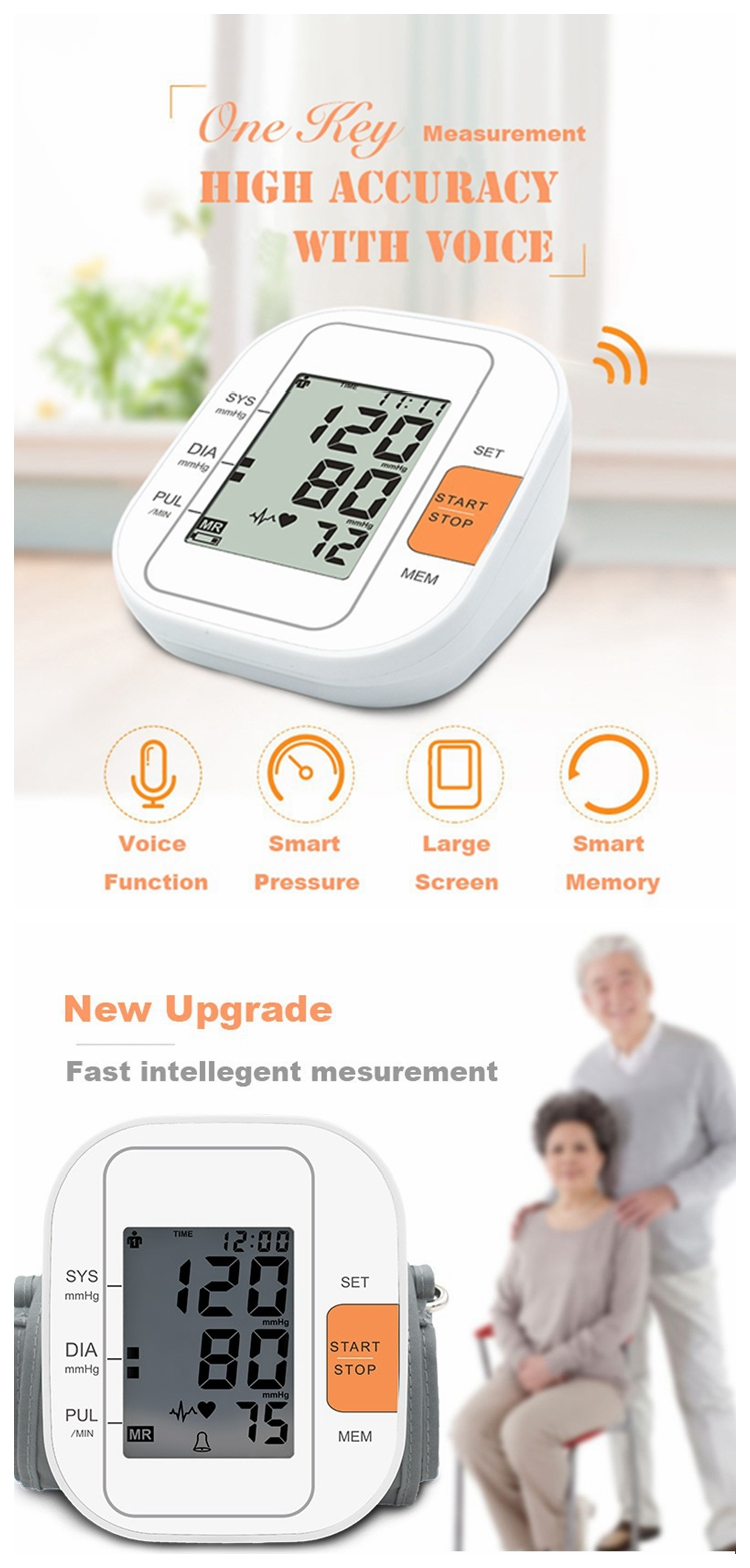2019 CE approve wholesale arm digital wireless blood pressure monitor  with cuff