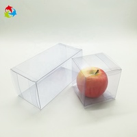 Gift Folding Clear PET PVC Transparent Plastic Box