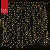 Latest promotion controller type programmable curtain lights new christmas lights