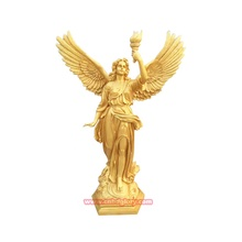 Garten Ornament Produkte Metall <span class=keywords><strong>Messing</strong></span> Gold Göttin Figur <span class=keywords><strong>Statue</strong></span>