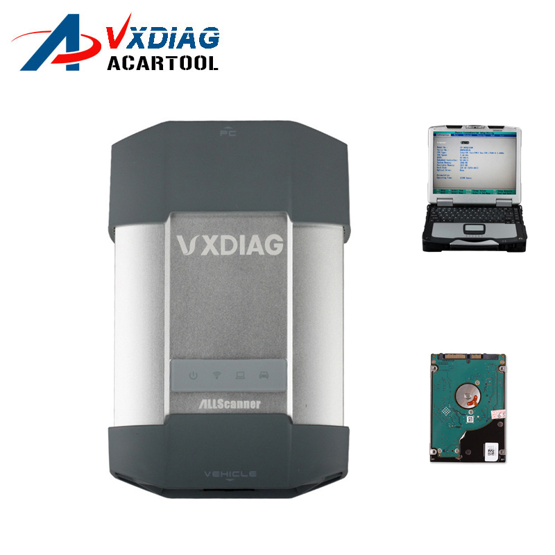 2016 Newest VXDIAG MULTI Diagnostic Tool For Porsche Piwis Tester 2 V15.6 JLR V139 With CF30 Laptop ready to use
