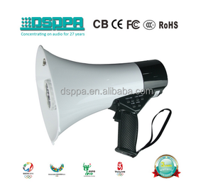 DSP166HD Hi-Fi Recording Megaphone and horn speaker with camera speech working 10 hours