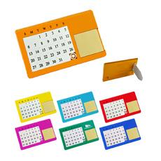 नई पहुंचे सस्ते उपहार पारदर्शी तह कार्यालय पुनश्च प्लास्टिक रंगीन OME मुद्रण लोगो घन कस्टम स्टैंड मेज आगमन कैलेंडर