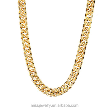 22k Gold Micro Pave Hip Hop Iced Out Brass Cuban Chain Design Buy 22k Gold Chain Price In Dubai Micro Pave Hip Hop Iced Out Cz Brass Cuban Chain Gold Chain Design Names
