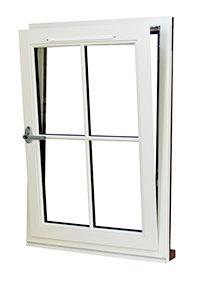 General Reception Interior Aluminum Profile ThreeTrack Sliding Window