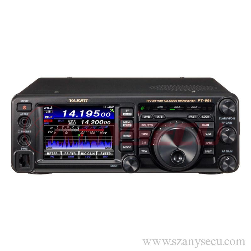 Yaesu FT-991 ALL-BAND, MULTIMODE PORTABLE TRANSCIEVER MF/HF/VHF/UHF transceiver with C4FM