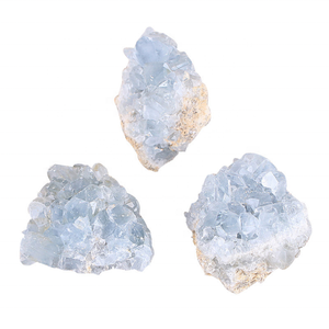 Wholesale Natural Raw Material Crystal Quartz Blue Crystal Geode Gravel