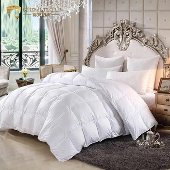 C33 Factory Direct Supply 80s Down-proof Machine Washable White Goose Down Feather Duvet