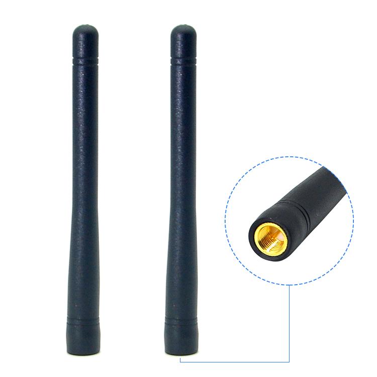 Wireless 2 4g external 2dbi wifi antenna booster with tnc adaptor