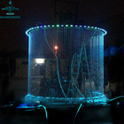 Water Feature With PVC Indoor Waterfalls For Homes Pool Curtain Fountain Rain Wall