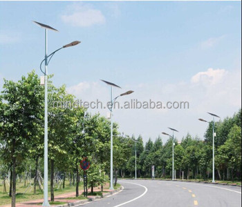 high lumen 90W solar street lights with 30W superbright led popular in Africa, Asia and Europe