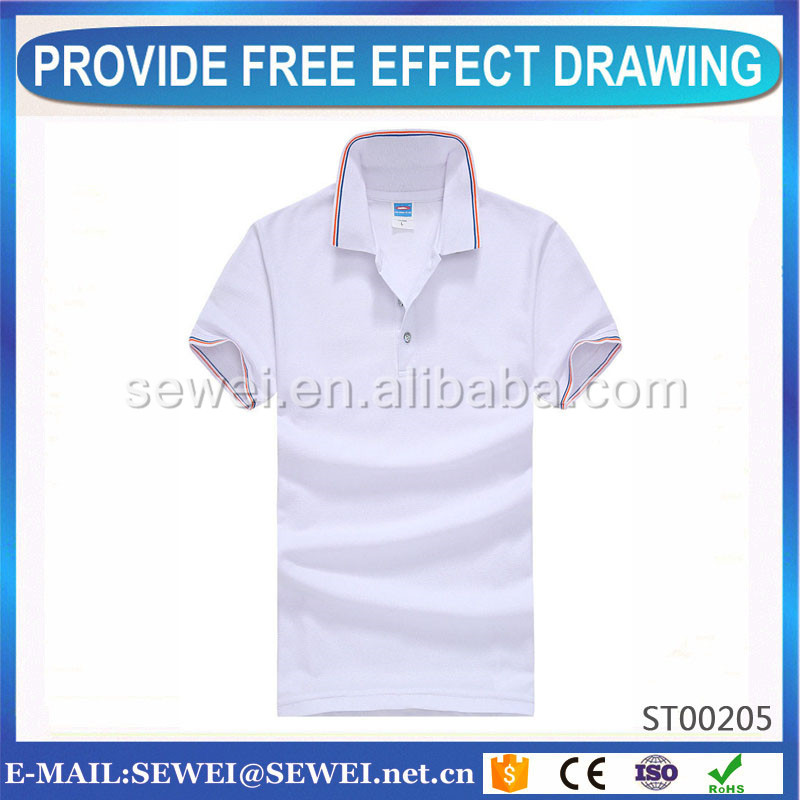 OEM/ODM factory working men's polo shirts with cheapest price