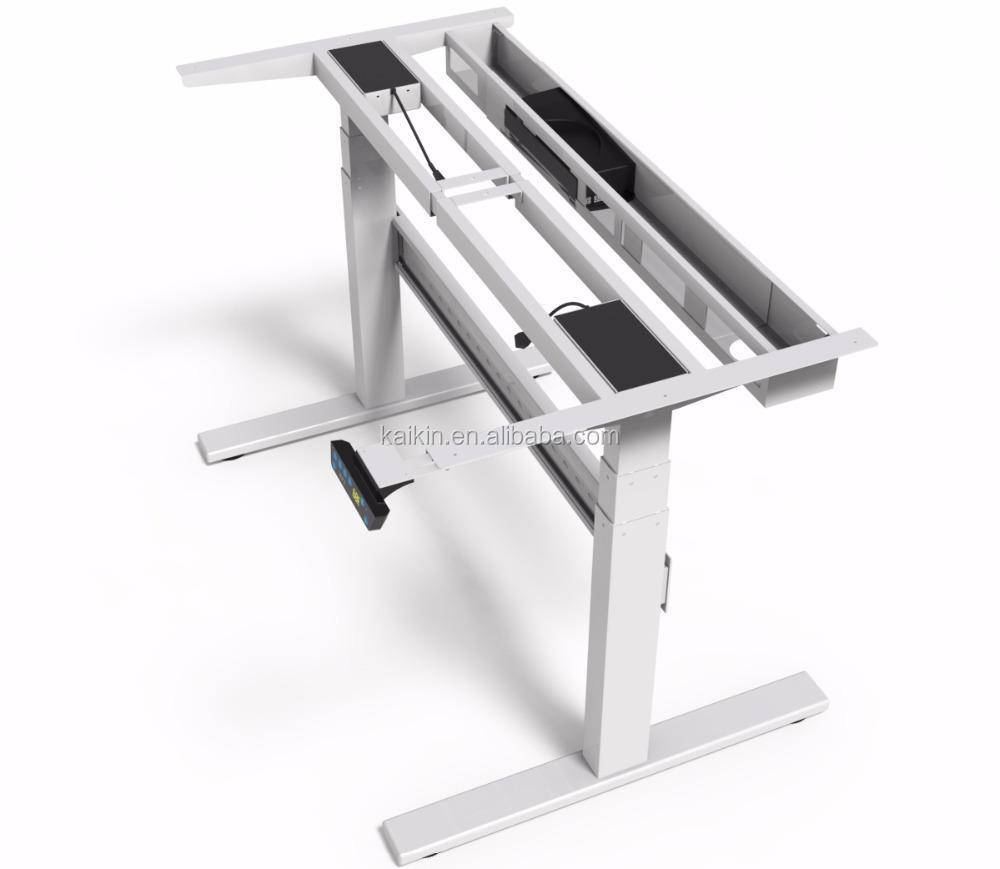 Qjb403 Standing Sitting Desk Standing Reception Desk Adjustable