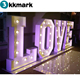 Light up LED wedding LOVE letter