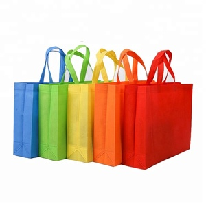 custom color bag eco friendly recyclable grocery non woven bag