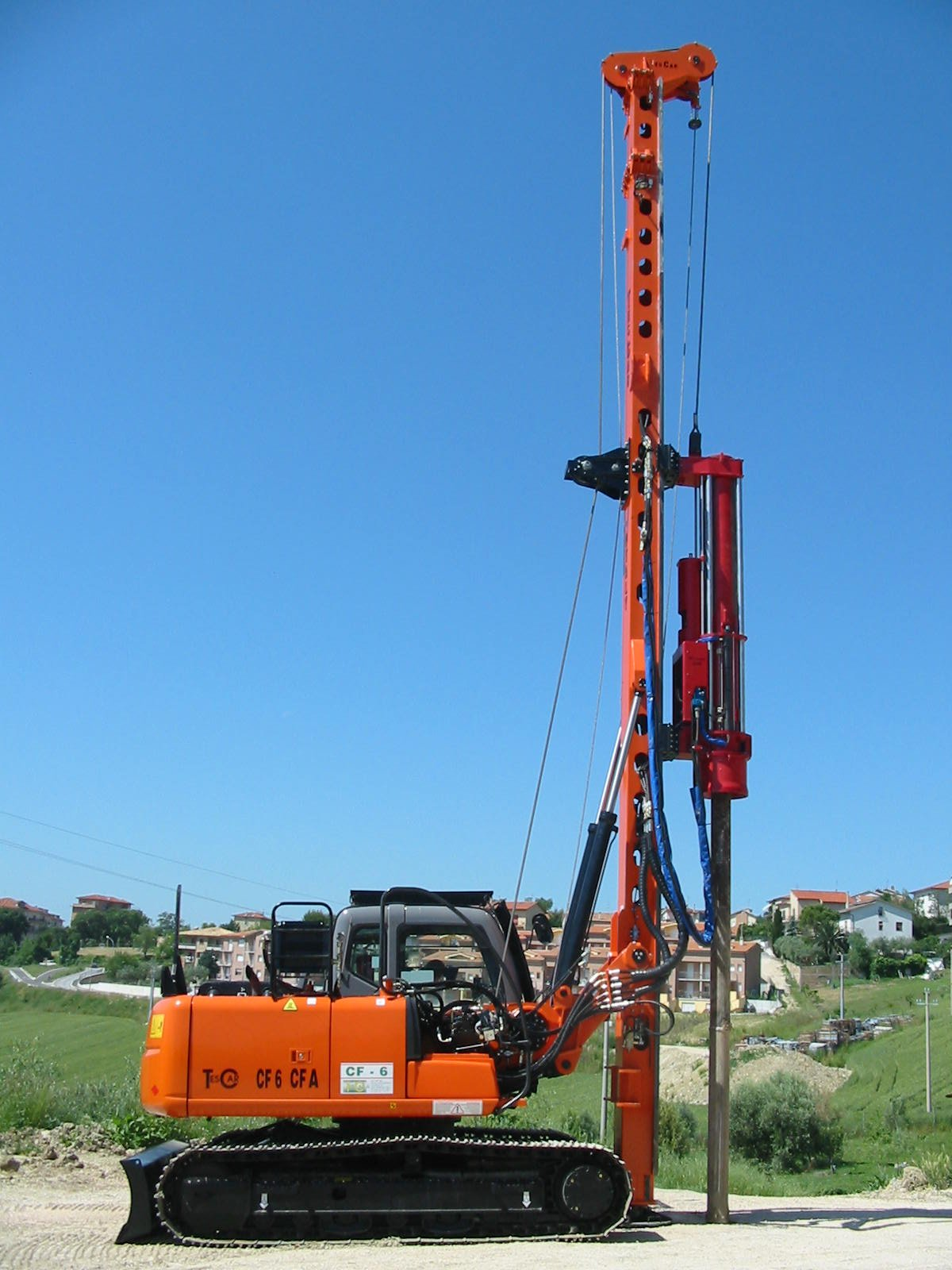 Tesca Cf6 Impact Hydraulic Hammer - Buy Piling Rig Product on Alibaba com