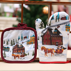 2018 hot new products fabric craft decor ornaments custom wholesale bear/santa/snowman hanging sock felt Christmas gifts gloves