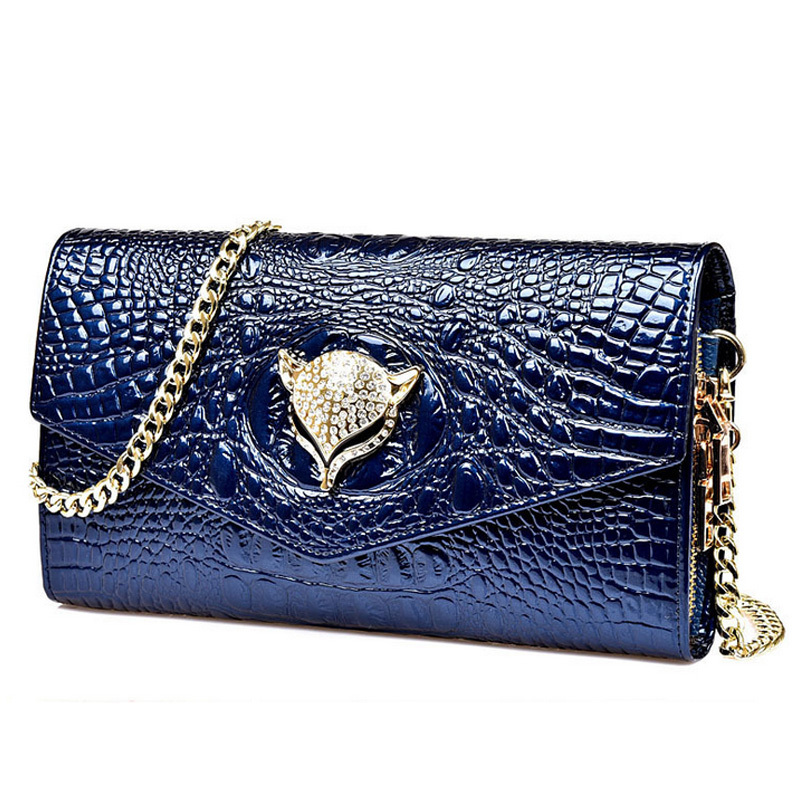 The new leather handbag Women messenger bag ladies' bag fashion leisure shoulder bag crocodile grain lady bag bolsa feminina