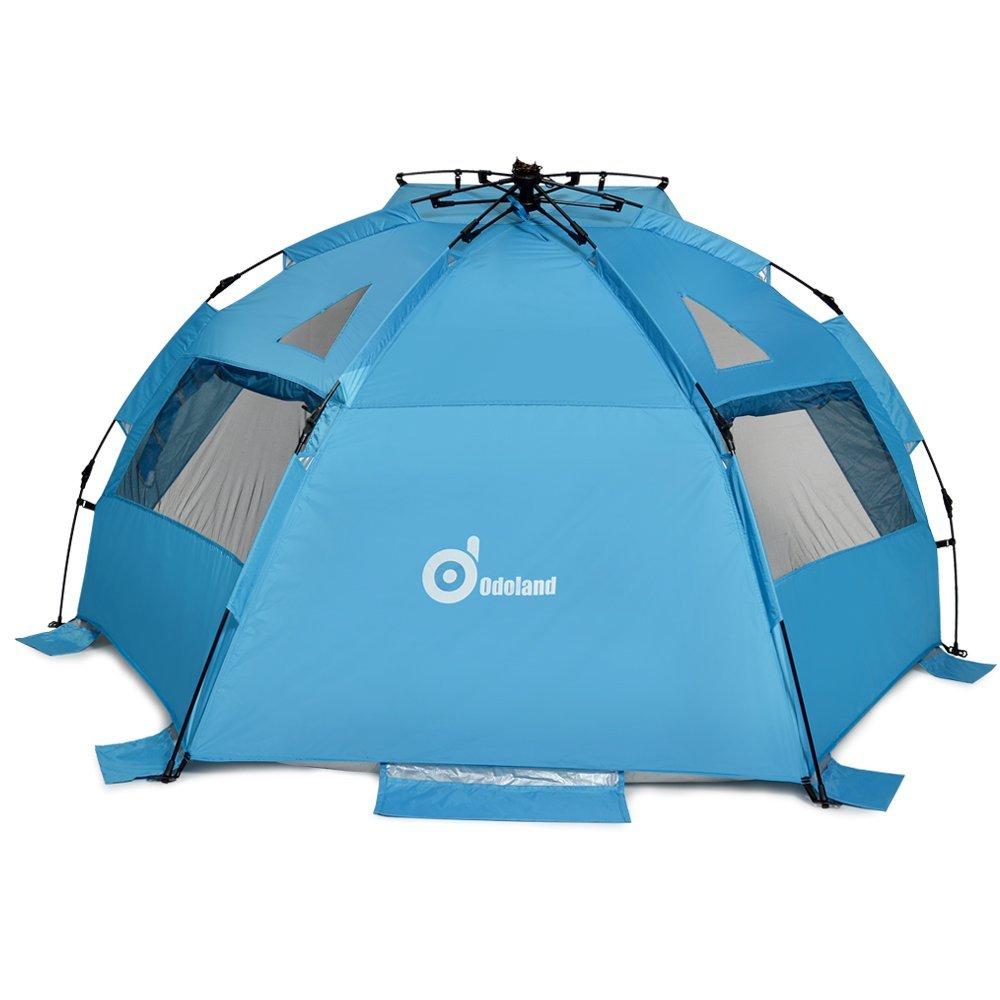 Beach Tent Odoland 94 X78 Easy Up Pop Sun Shelter