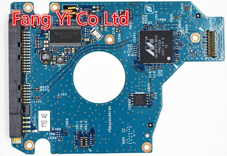 HDD PCB for Toshiba /Logic Board/Board Number: G002439-0A Main Controller IC: 88i88172-BHJ2 /MK2555GSXF HDD2H21,HDD2H23,HDD2H24,HDD2H25,HDD2H27,HDD2H84,HDD2H74