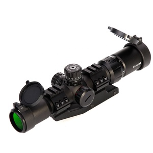 LUGER Tactical Recon Monocular Telescope hunting Scope 1.5-4x30 rifle scope Reticle W/E adjustable