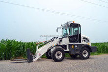 construction equipment chinese supplier mini wheel loader with digger price for sale with CE certification