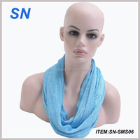 Sexy women loop scarf super soft circle scarf