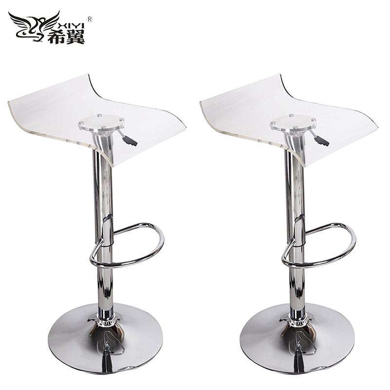 transparent acrylic bar stool transparent acrylic bar stool suppliers and at alibabacom - Clear Bar Stools