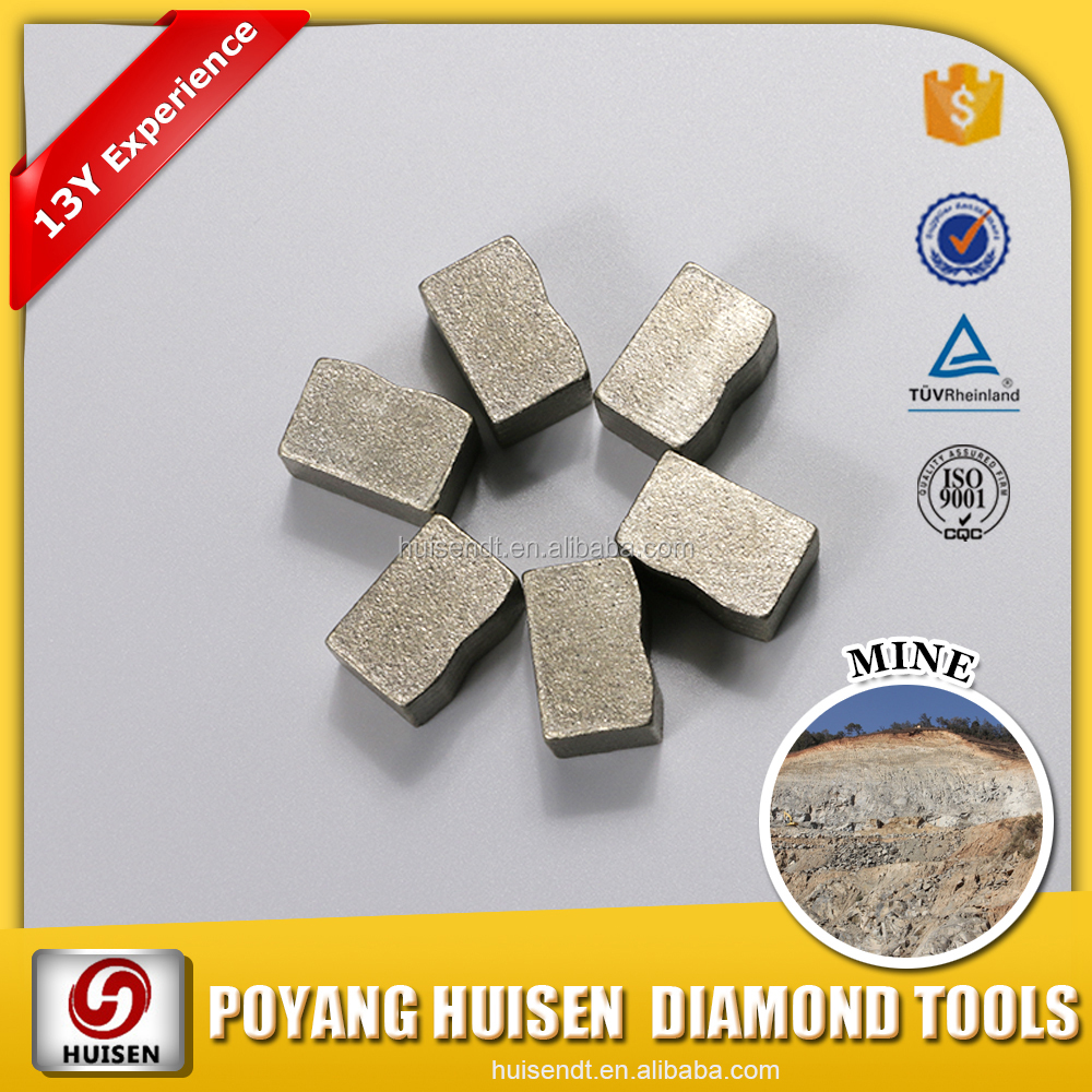 China Diamond Tools Supplier Many Kinds Of Stone Cutting Segment Provide Overseas Service